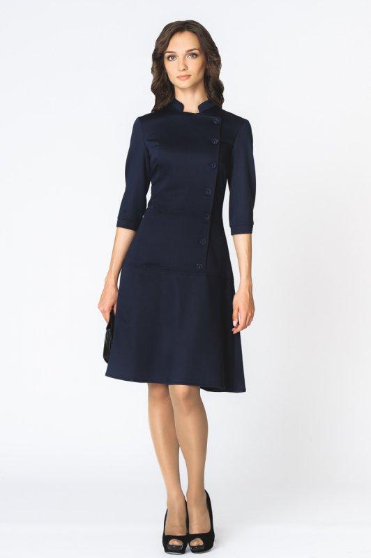 309da50933df Платье 214 синий оптом в г.Омск (Соло)