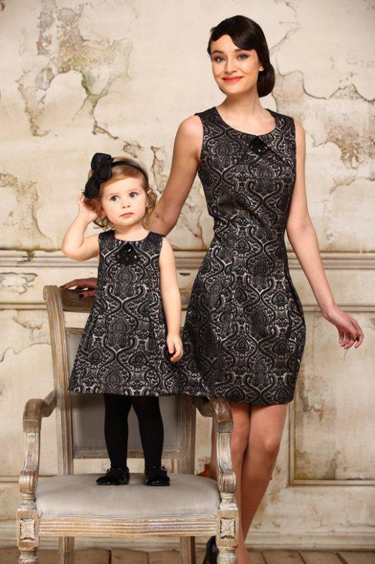 Нарядное платье для мамы и дочки