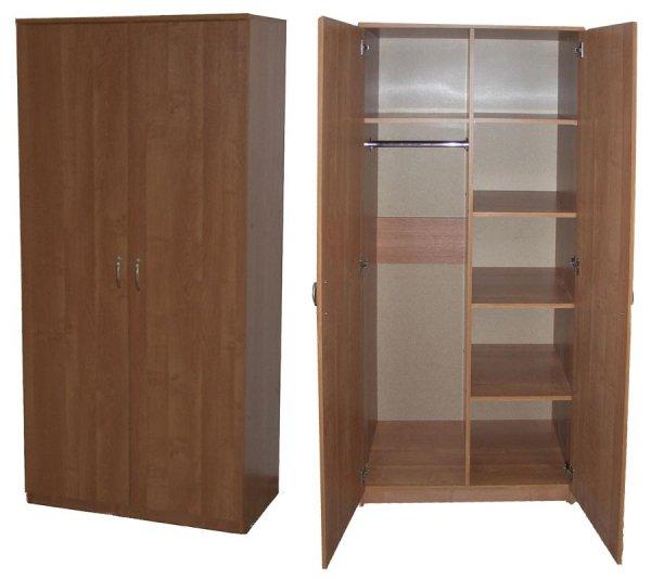 Шкаф двустворчатый, комбинированный (лдсп) купить в санкт-пе.