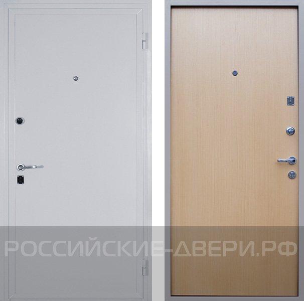 входные металлические двери с отделкой ламинатом в щербинке