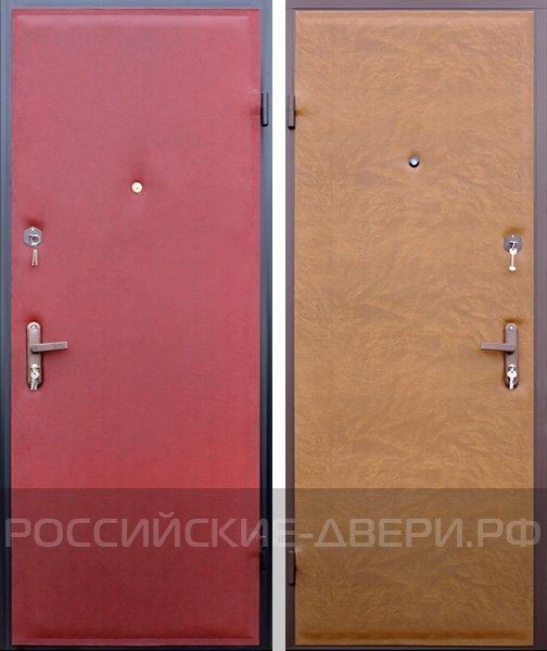 двери металлические входные эконом класса клин
